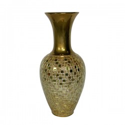Gold Mirrazo Vase