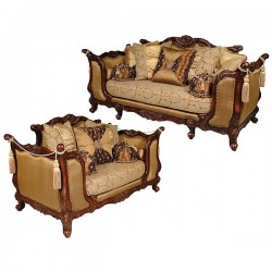 Silk Charlotte Sofa Set of 2
