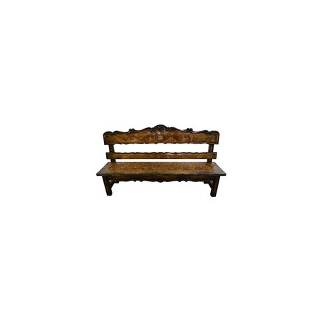 Belruse High Back Bench
