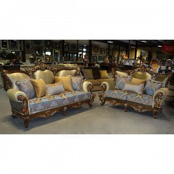 Alicia 1 Grand Sofa Set - 2pc