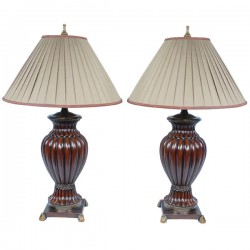 Baltmore Ribbed Lamp Set of 2