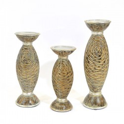 Sarabi Candleholders - Set of 3