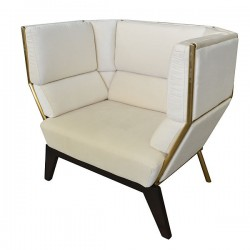 White Artisin Chair