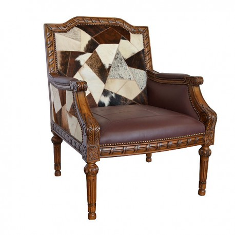 Leather & Hide Assorted Chair