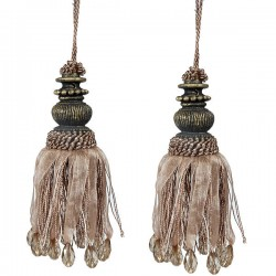 Saxon Mini Tassel Set of 2