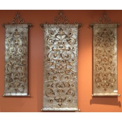 Gold/Silver 3pc Tapestry Set